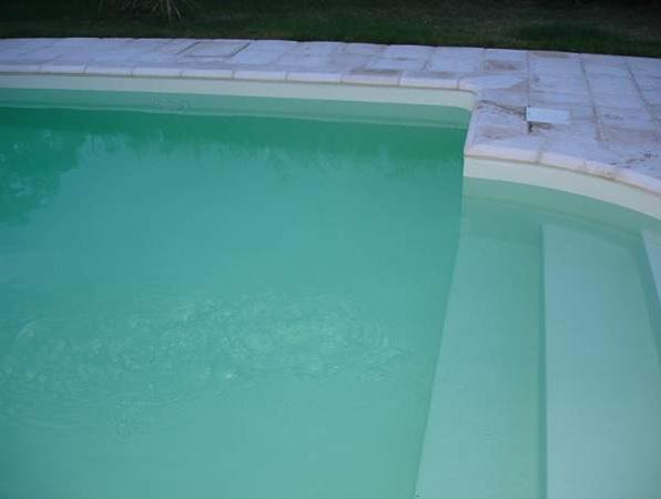Groen helder water